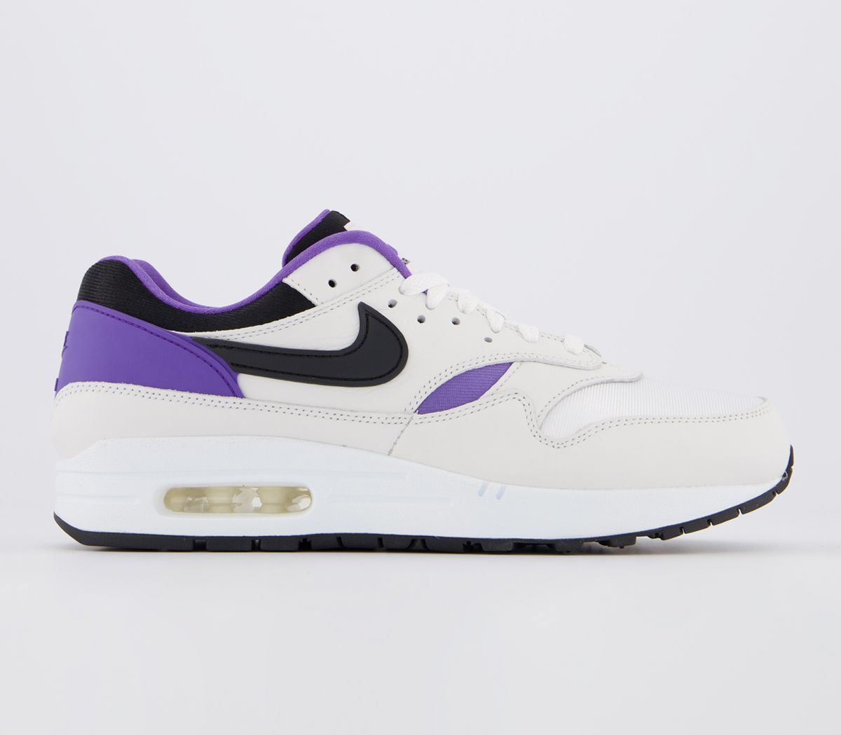 Nike Air Max 1 Trainers Trainers Unisex Dna White Black Purple Punch 2014415487