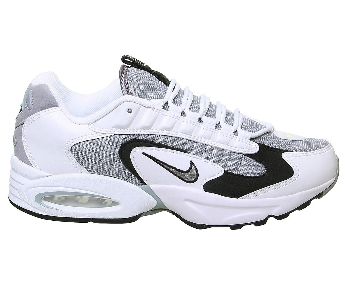 Nike Air Max Triax Trainers Trainers Unisex White Particle Grey Black Volt 1498614831