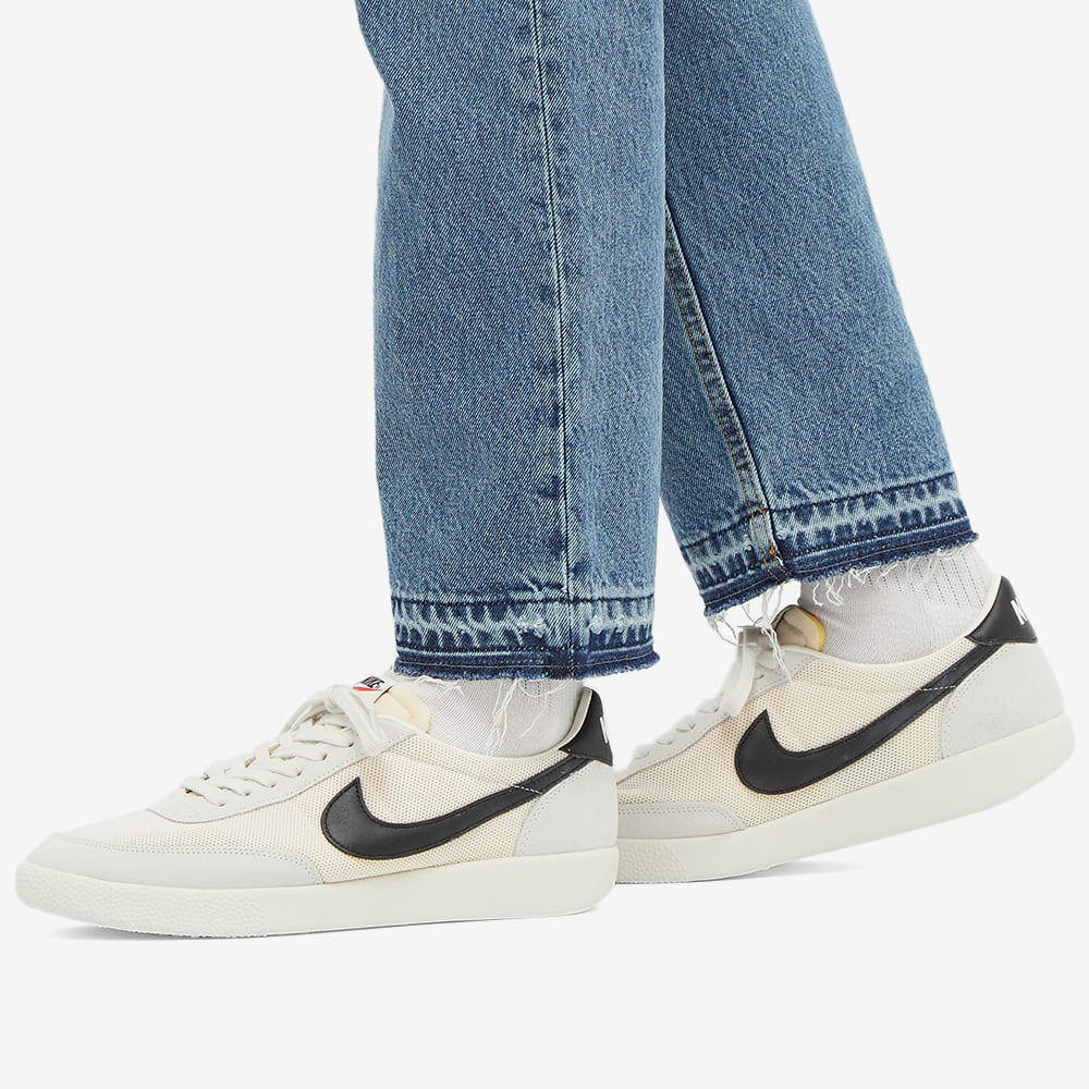 Running NIKE KILLSHOT O unisex Sail, Black & Orange DC7627-100