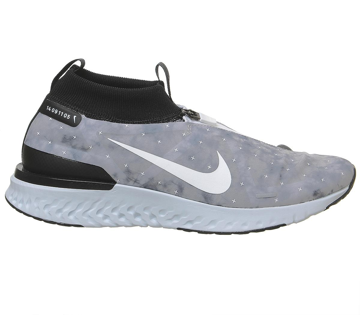 Nike React City Gpx Trainers Men Trainers Wolf Grey White Black Pure Platinum 3803524383